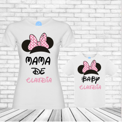 Camisetas orejas Minnie