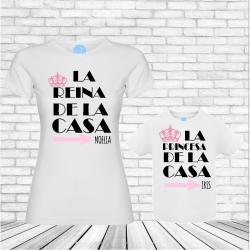 Camisetas Reina y Princesa...