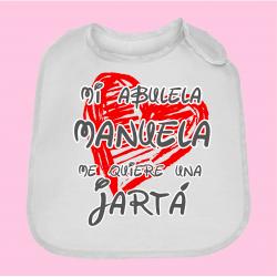 "Babero ""Abuela"""